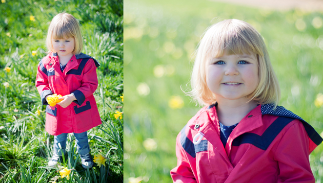 Children's portrait photography