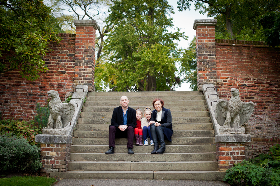 Family Lifestyle Portrait at Waterlow Park Highgate